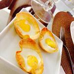 Cestinha de ovo de codorna