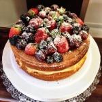 Naked Cake com frutas