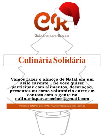 Culinária Solidária
