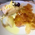 Bacalhau Confit com batatas crispy